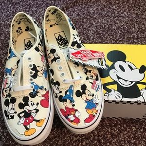 Vans Mickey Mouse Authentic Shoes